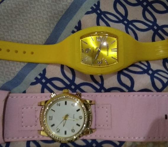 2 Relógios Feminino