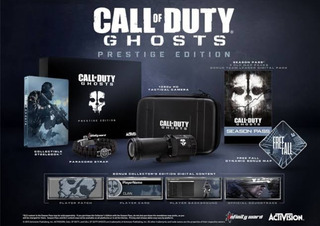 Ps3 Call Of Duty Ghost Prestige Edition Solo Coleccionistas