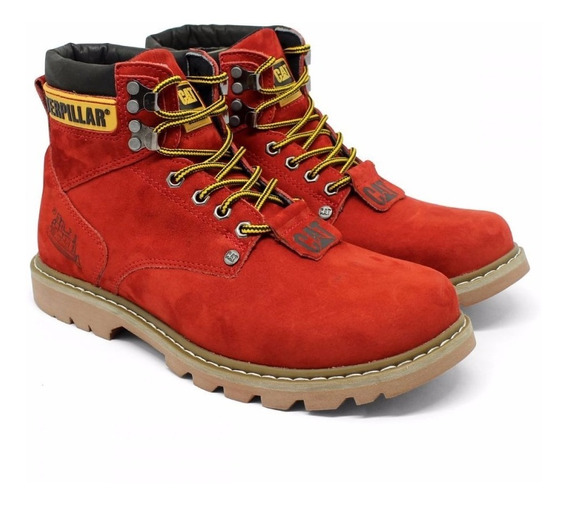 Bota Coturno Cat Caterpillar Adventure 100% Couro!