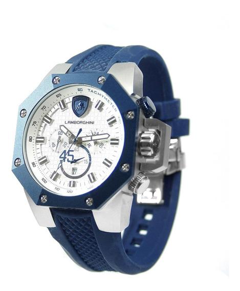 Relógio Masculino Lamborghini Lb90001669m Coleção Huracan
