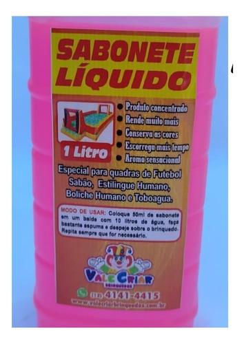 Imagem 1 de 10 de Futebol Sabão Kit C/4lts De Sabonete Liquido Especial+brinde