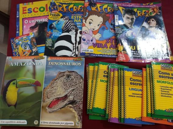 22 Revista Infantis Antigas Recreio E Letronix Portugues