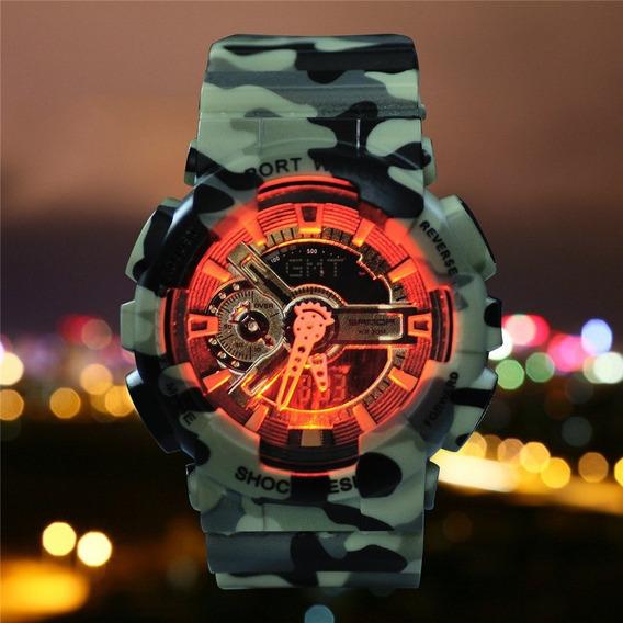 Relógios Masculinos Analogico Digital Aprova D´água + Barato