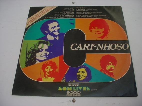 Lp Vinil Trilha Sonora Internacional Novela Carinhoso 1973