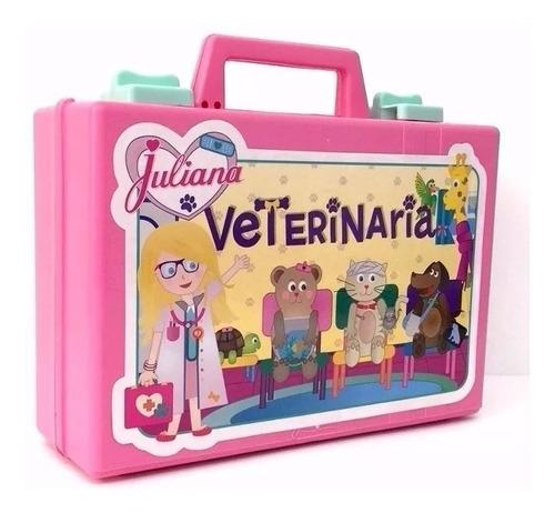 Valija Juliana Veterinaria Grande Con Accesorios Original Tv
