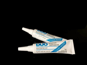 2 Cola Para Cílios Duo Eyelash Adhesiv-white 9g Melhor Preço