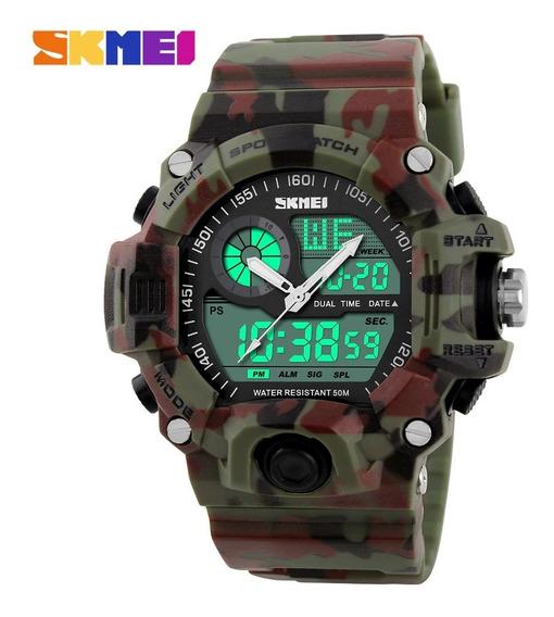 Relógio Skmei Powerful Sport Camuflado Militar