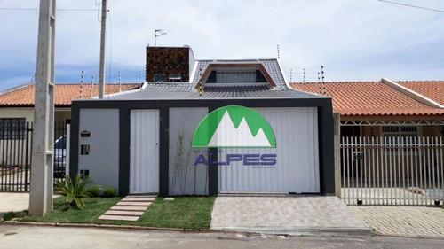 Casa Residencial À Venda, Estados, Fazenda Rio Grande. - Ca0314
