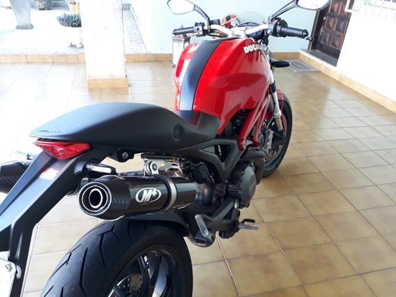 Escapemnto Carbono M4 Ducati Monster 696/796