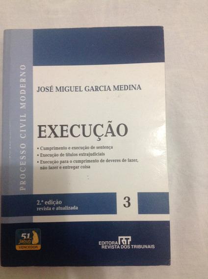Livro - Processo Civil Moderno - Execução - 3