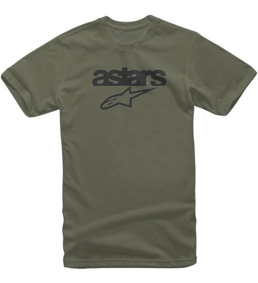 Camiseta Alpinestars Heritage Blaze Verde Militar
