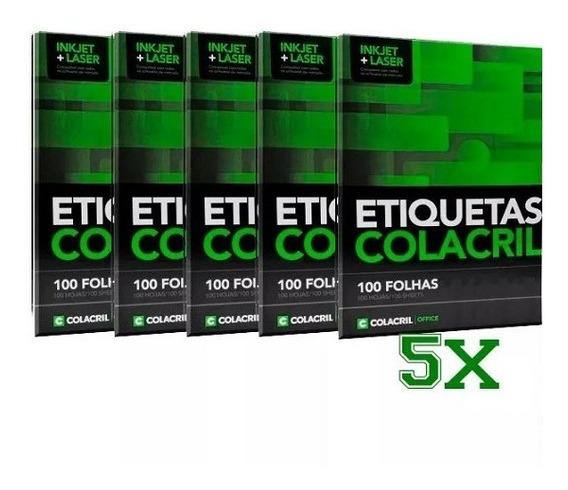 Etiqueta Adesiva Carta Cc186 138,11x212,73mm 500 Folhas