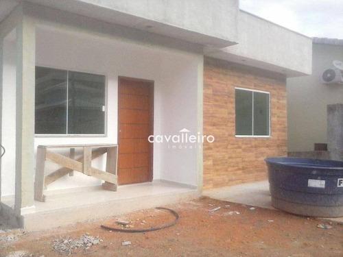 Casa Residencial À Venda, Pindobas, Maricá. - Ca3020