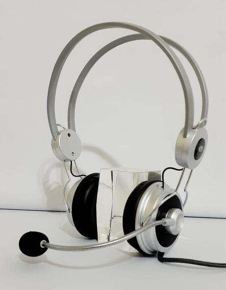 Kit Com 2 Fone De Ouvido Com Microfone Infokit Hm-610mv