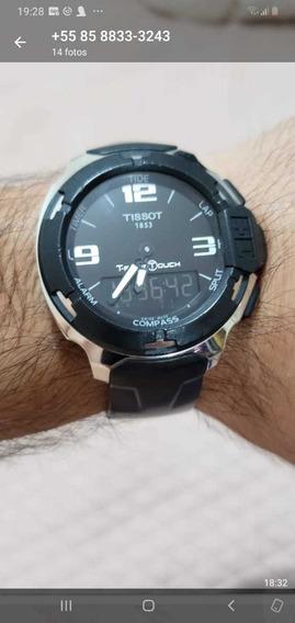 Relógio Tissot T-race Touch, Modelo T081420a Original.