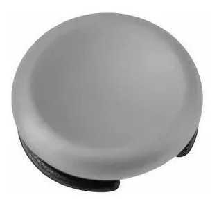 2 Capa Botão Analógico 3ds Xl - Cinza - Circle Pad Frete Gra