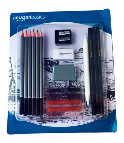 Imagen 1 de 2 de Kit De Dibujo Profesional Amazonbasics