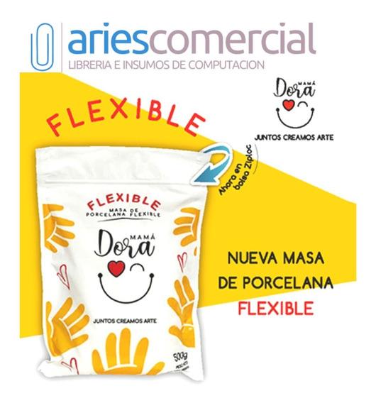 Porcelana Fria Masa Flexible Mama Dora 500grs Souvenirs X10u