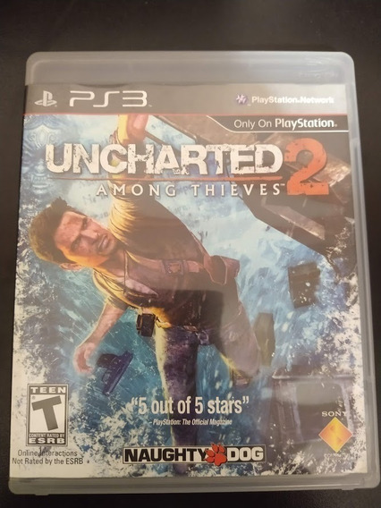 Uncharted 2 Among Thieves Ps3 Mídia Física Original Perfeito