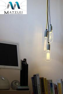 Bulbo De Luz Colgante - Lampara Decorativa De Techo Luz Led