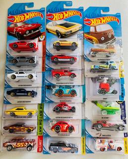 Coleção De 20 Hotwheels Maverick Fusca Kombi Dodge