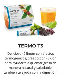 Termo T3 Fuxion Suplemento Dietar A Bs Limón Ayuda A Quemr G