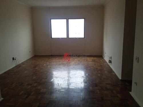 Imagem 1 de 10 de Apartamento Com 3 Dormitórios Para Alugar, 122 M² Por R$ 950,00/mês - Vila Imperial - São José Do Rio Preto/sp - Ap2369