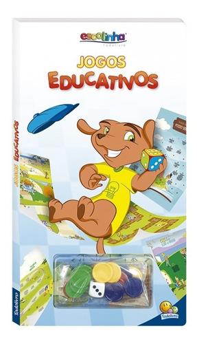 Livro Jogos Educativos Escolinha Todolivro