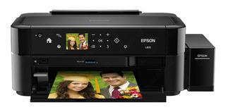 Impresora a color fotográfica Epson EcoTank L810 220V - 240V negra