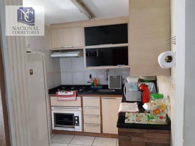 Apartamento Com 2 Dormitórios À Venda, 50 M² Por R$ 180.000 - Vila Camilópolis - Santo André/sp - Ap8450