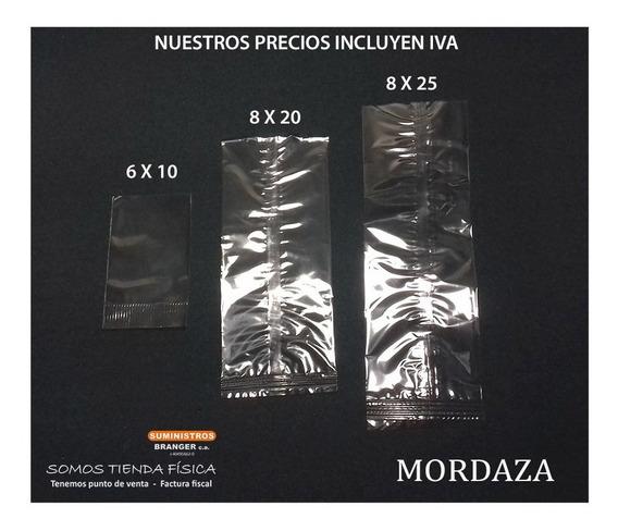 Bolsa Celofán Sello Mordaza 6x10 Cm Bolsas