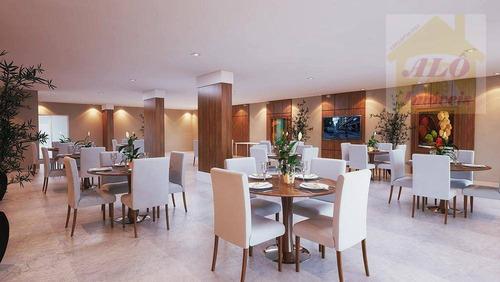 Apartamento À Venda, 99 M² Por R$ 500.000,00 - Caiçara - Praia Grande/sp - Ap2103