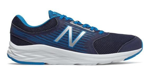 Zapatillas New Balance Running Hombre M411 Marino - Azul Ras