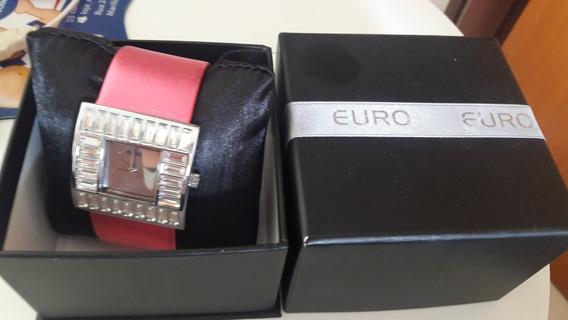 Relogio Euro Original Rosa