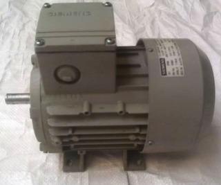 Motor Siemens 1 Caballo, 3600 Rpm, Trifásico 220 Voltios