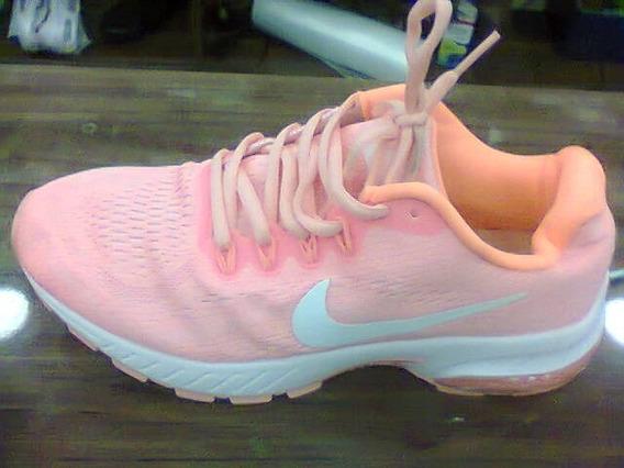Tenis Nike Air Max Motion Salmão E Branco Nº37 Original