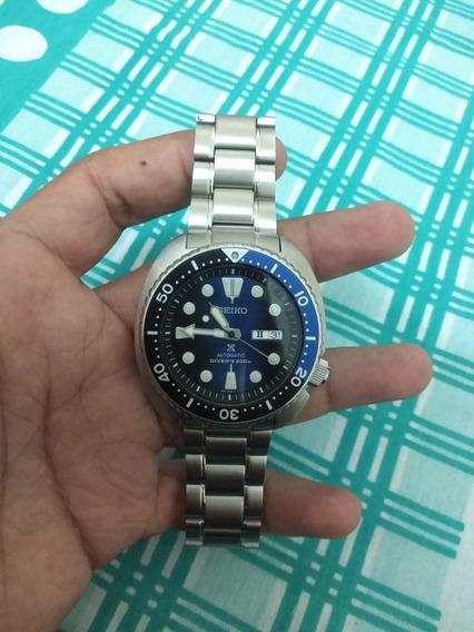 Relógio Seiko Turtle Automático Diver,não Rolex, Não Tag