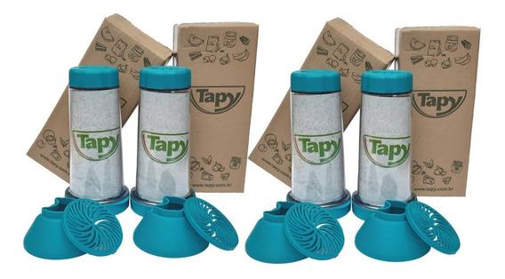 Tapioqueira Tapy Azul Tiffany - Kit-4 Desconto 5%