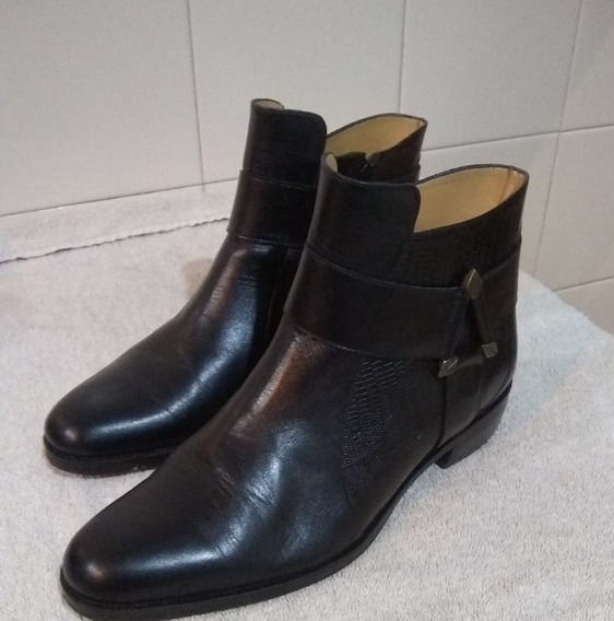 Botas Caña Corta Negra Briganti Talle 39