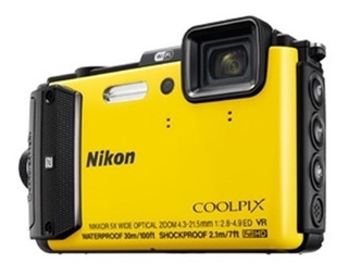 Camara Nikon Coolpix Aw130 Sumergible