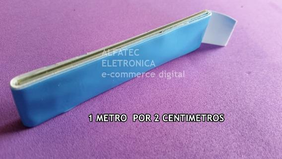 Dupla Face Termica P/ Barra De Led 20mm Por 1m Por Carta