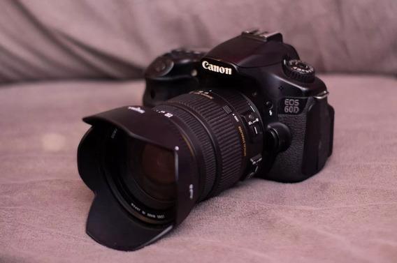 Camera Canon 60d + Lente Sigma 17-50 F2.8