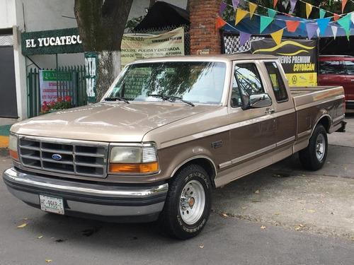 Imagen 1 de 15 de Ford F-150  V8 1992 Cabina Y Media