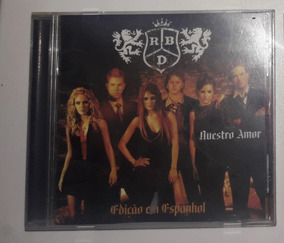 Cd Rbd Rebelde Nuestro Amor Edição Em Espanhol Original