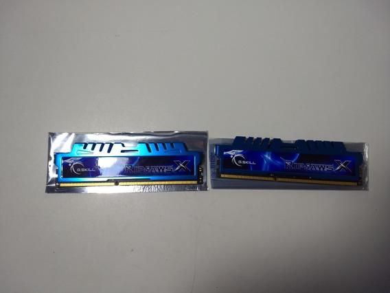 Memória Ram G-skill Ddr3 1600mhz 16gb(2x8gb) Azul