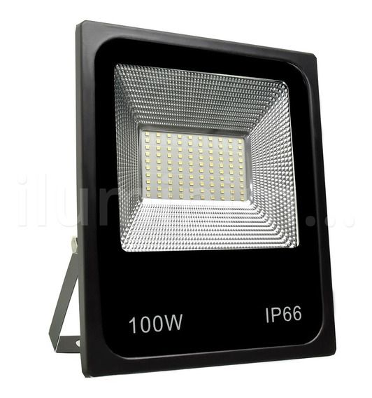 Refletor Holofote 100w Led Smd 6000k Branco Frio Bivolt
