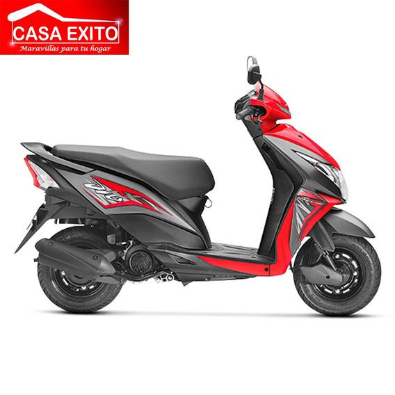Moto Honda Dio110 110cc Año 2019 Color Negro-rojo