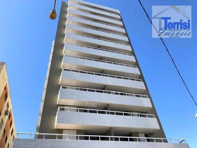 Apartamento Em Praia Grande, 02 Dormitórios Sendo 01 Suíte, No Bairro Canto Do Forte, Ap2133 - Ap2133
