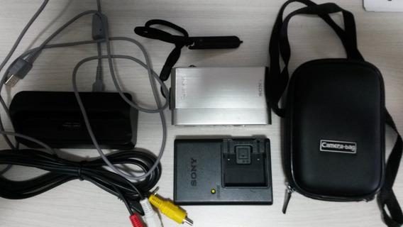 Câmera Digital Sony T900 Prata Impecável!