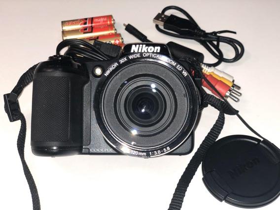 Câmera Semi Profissional Nikon L820